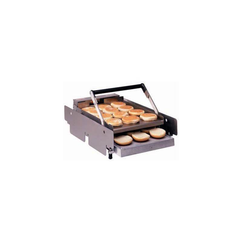 GASTROMASTRO Toaster contact pour pain burger