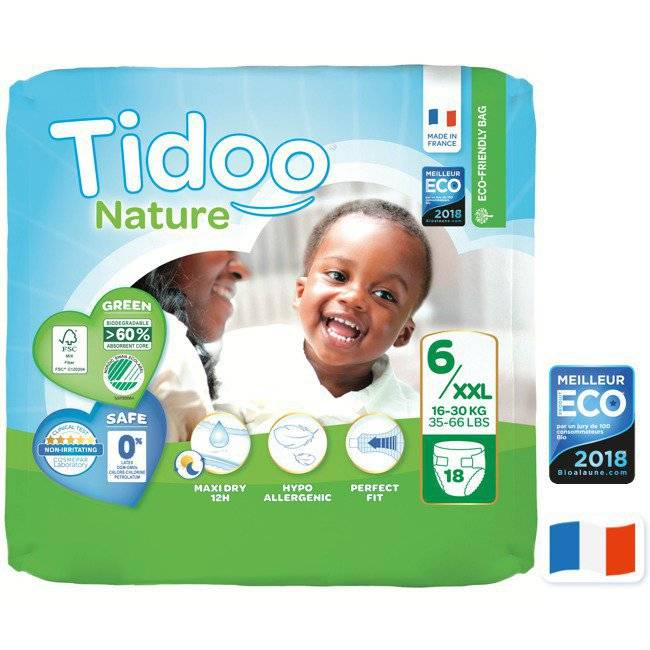 Tidoo Nature 18 Couches T6 (16 à 30kg)