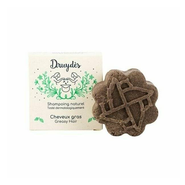 Druydes Shampoing solide cheveux gras