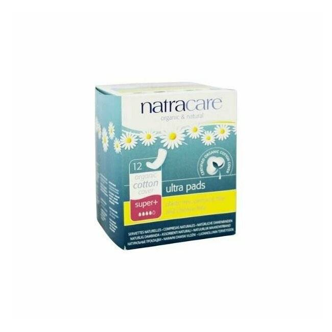 NATRACARE Serviettes SUPER+ ultra pads