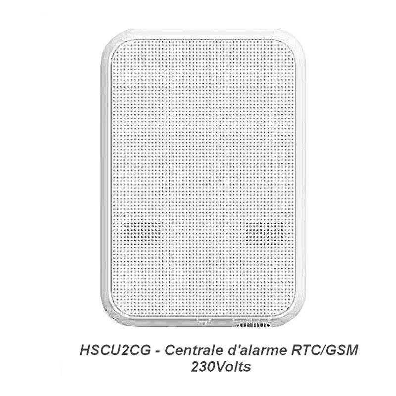 Nice HSCU2GC Centrale alarme maison