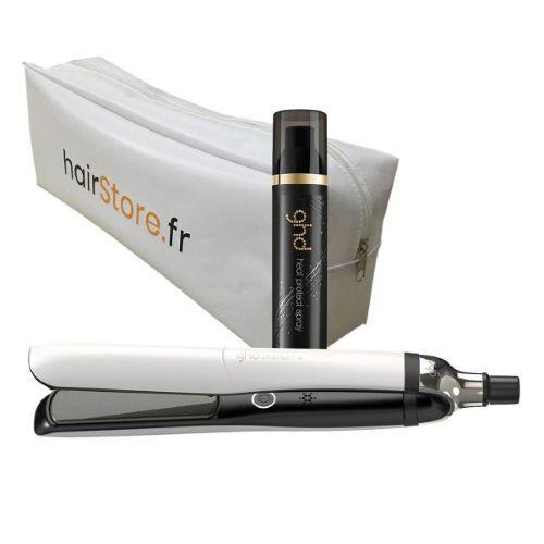ghd Pack GHD Platinum Blanc + Spray Thermoprotecteur