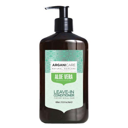 Arganicare Crème De Soin Sans Rinçage Hydratante Aloe Vera 400ml Arganicare