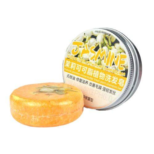 FRESH PLANT SHAMPOO Shampoing Solide Jasmin - Lissant, Disciplinant, Anti-frisottis