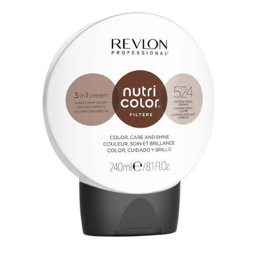 Revlon Professional Nutri Color Filters 240ml - 524 Chatain Perlé Cuivré