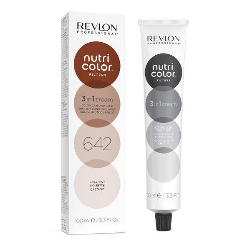 Revlon Professional Nutri Color Filters Revlon 100ml - 642 Noisette