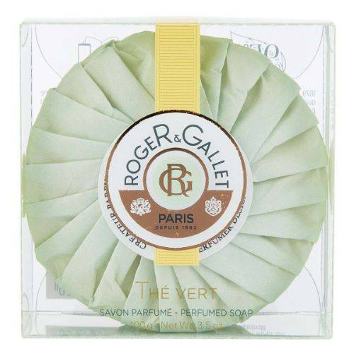 ROGER GALLET Savon Frais Boîte Cristal Thé Vert Roger Gallet - 100g