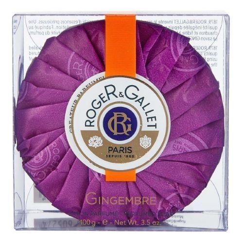 ROGER GALLET Savon Frais Boîte Cristal Gingembre Roger Gallet - 100g