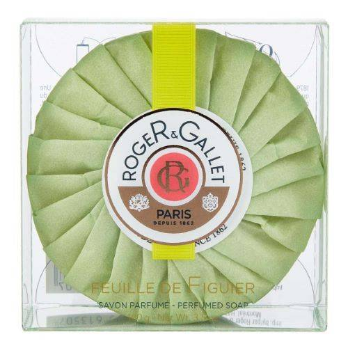 ROGER GALLET Savon Frais Boîte Cristal Feuille de Figuier Roger Gallet - 100g