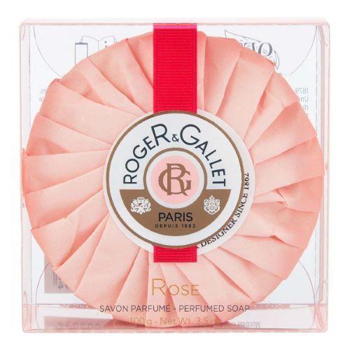 ROGER GALLET Savon Frais Boîte Cristal Rose Roger Gallet - 100g