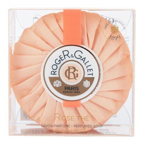 ROGER GALLET Rose Thé Savon Frais Boîte Cristal Héritage Roger Gallet - 100g