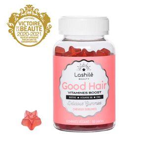 Lashilé Gummies Vegan Good Hair Vitamines Boost Lashilé x60 - Publicité