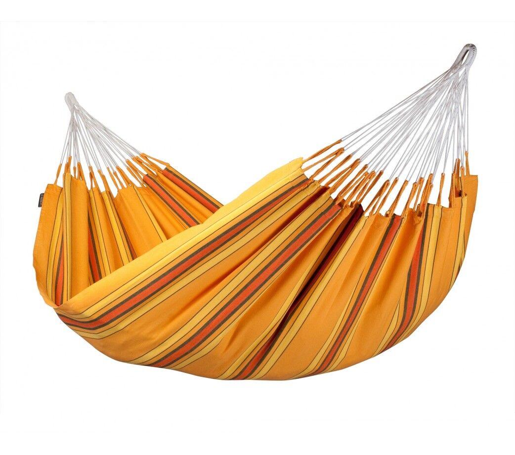 La Siesta Hamac Currambera Orange Double