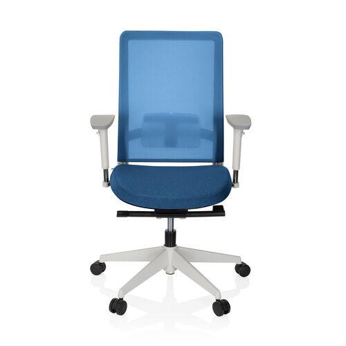 hjh OFFICE PURE WHITE - Siège de bureau de qualité professionnelle Bleu
