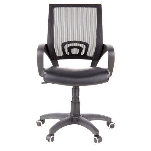 hjh OFFICE VISTO NET - Siège de bureau à domicile Noir