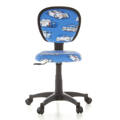hjh OFFICE KIDDY TOP - Chaise pivotante pour des enfants Motif voitures