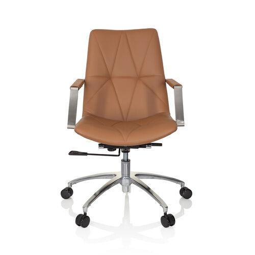 hjh OFFICE SARANTO II - Siège de bureau à domicile Couleur caramel