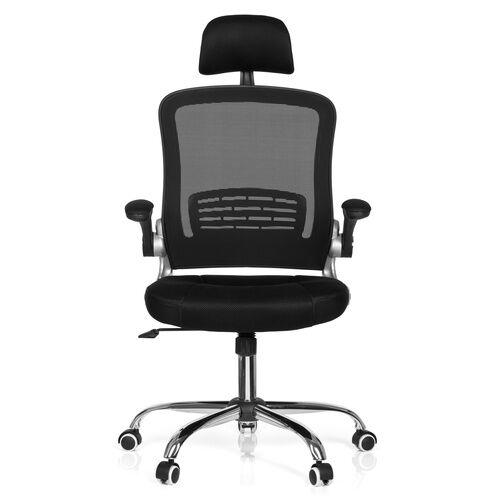 hjh OFFICE VENDO NET - Siège de bureau à domicile Noir