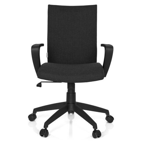 hjh OFFICE SOFT - Siège de bureau à domicile Noir