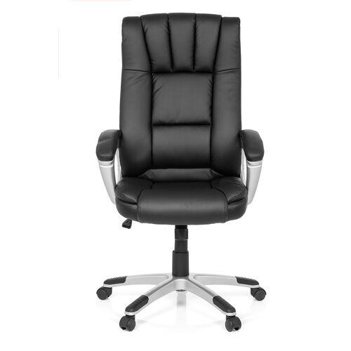 MyBuero RELAX CL150 - Siège de bureau à domicile noir Buerostuhl24 simili cuir