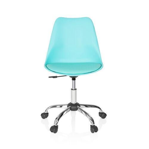 hjh OFFICE FANCY PRO - Siège de bureau à domicile turquoise