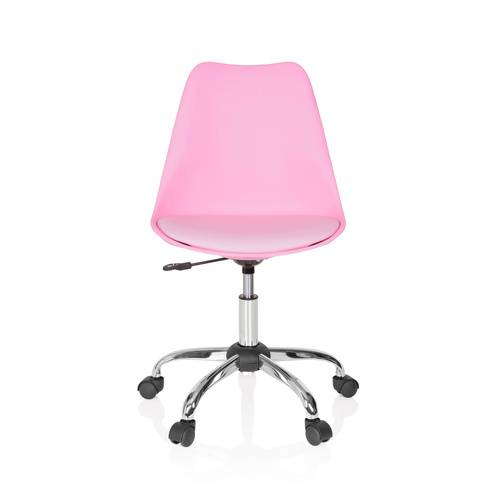 hjh OFFICE FANCY PRO - Siège de bureau à domicile Pink / Rose