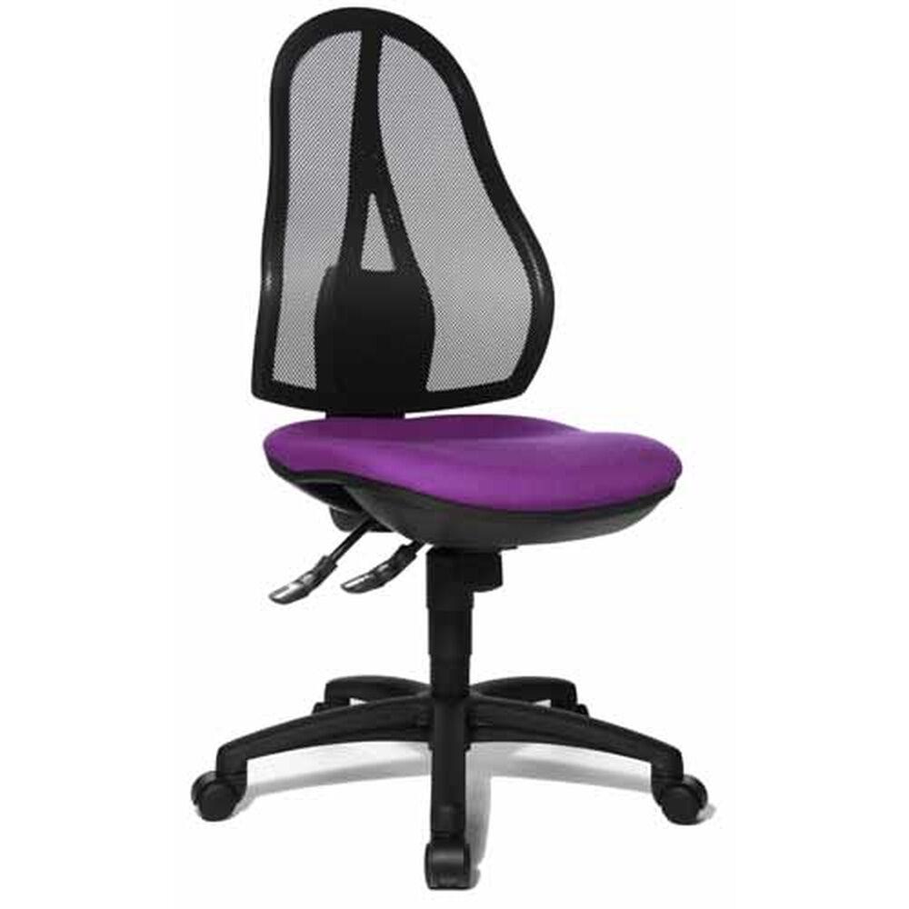 Topstar Open Point SY - Siège de bureau à domicile lilas tissu