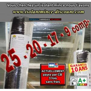isolantmince-discount.com ISOLANT MINCE AIR PRO 6,00€ HT/m²