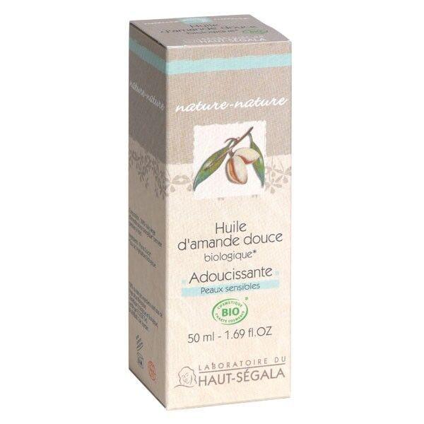 Laboratoire du Haut Ségala Huile d'amande douce Bio - Adoucissante et Hydratante