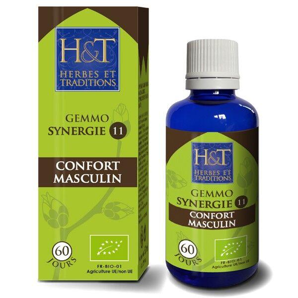 Herbes et Traditions Synergie Gemmothérapie 50 ml - Confort Masculin