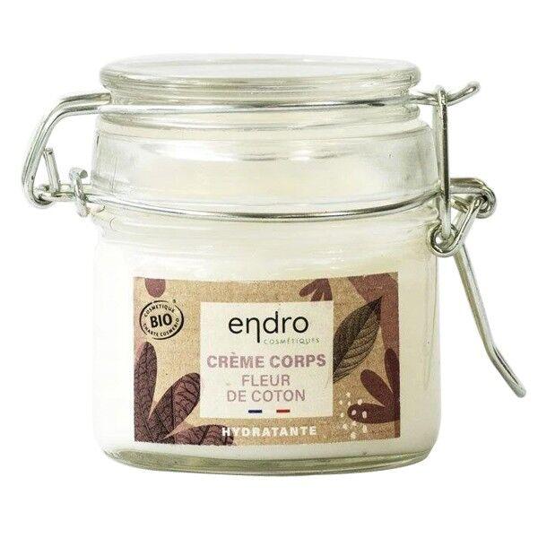 Endro Cosmétiques Crème Corps Bio Hydratante 100 ml - Fleur de coton
