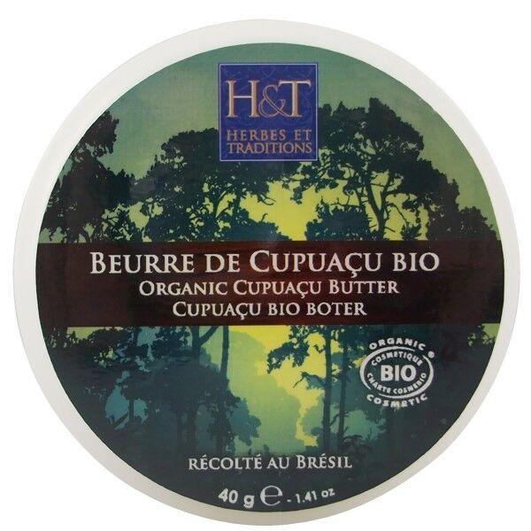 Herbes et Traditions Beurre de Cupuaçu 40 g - Anti-âge et Revitalisant