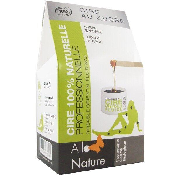 Allo Nature Kit Épilation à la Cire au sucre - Corps et Visage