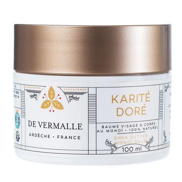 de Vermalle Baume Karité et Monoï 100 ml - Visage et Corps