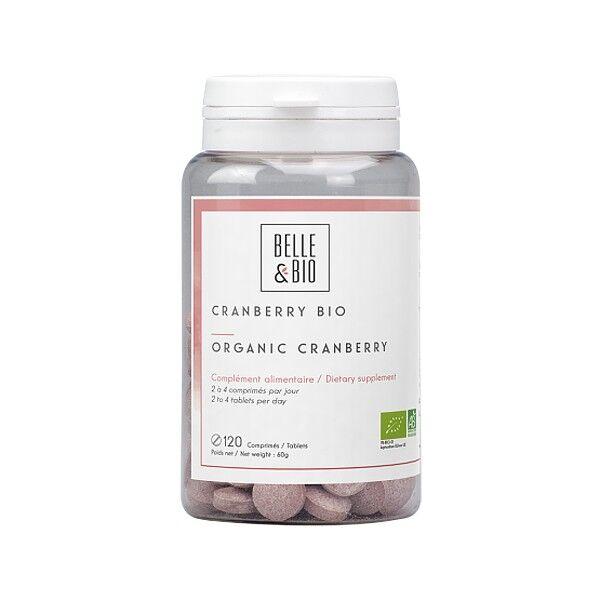 Belle et Bio Cranberry Bio 120 comprimés - Confort Urinaire