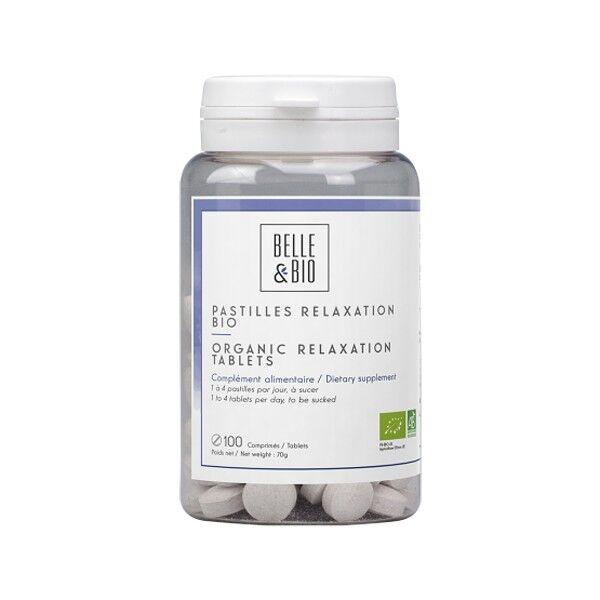 Belle et Bio Pastilles d'huiles essentielles bio 100 comprimés - Détente et Relaxation