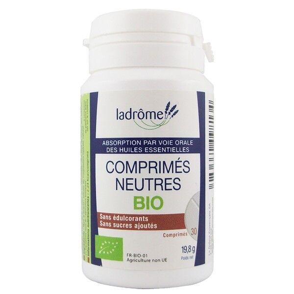 Ladrôme Comprimés Neutres Bio - Absorption huiles essentielles voie orale