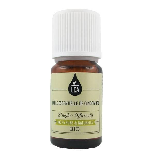 LCA - Combe d'Ase Huile essentielle de Gingembre Bio 10 ml