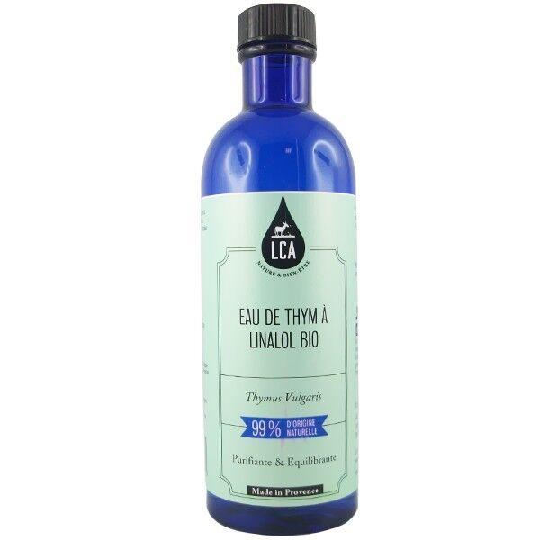 LCA - Combe d'Ase Eau Florale de Thym à Linalol 200ml - Peaux grasses et impures