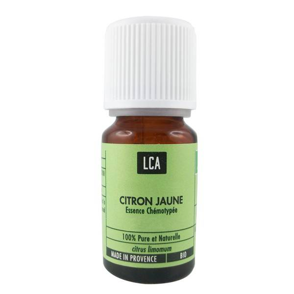 LCA - Combe d'Ase Huile essentielle de Citron Bio 10 ml