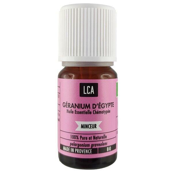 LCA - Combe d'Ase Huile essentielle de Géranium Bio 10 ml - Rosat Égypte