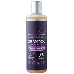 Urtekram Shampoing à la Lavande Purple - Cheveux normaux à secs - Publicité