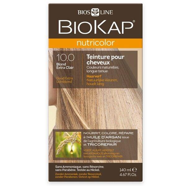 Biokap Coloration 10.0 Blond extra Clair - Nutricolor