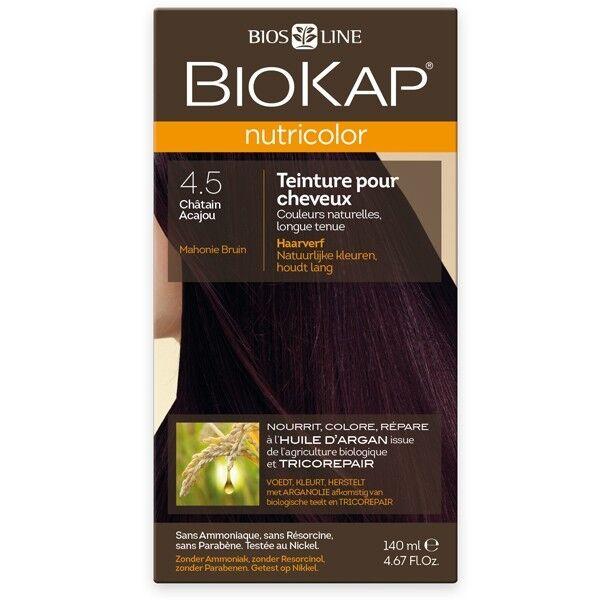 Biokap Coloration 4.5 Châtain Acajou - Nutricolor
