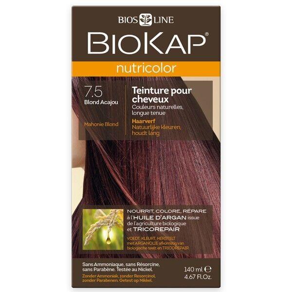 Biokap Coloration 7.5 Blond Acajou - Nutricolor