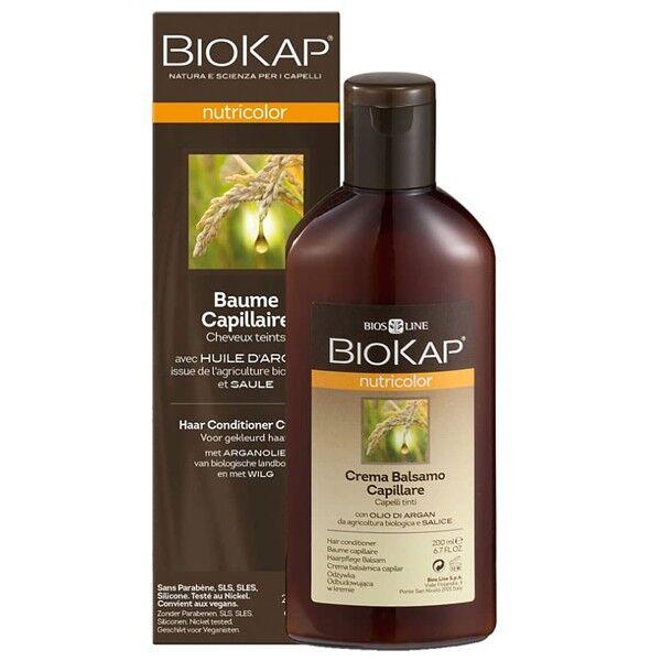 Biokap Baume de soin capillaire 200 ml - Réparateur Cheveux colorés
