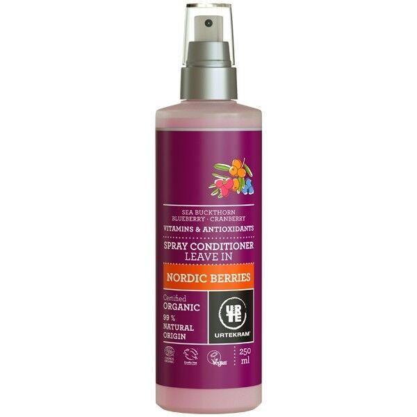 Urtekram Spray Après-Shampoing aux Baies Nordiques 250 ml - Réparateur