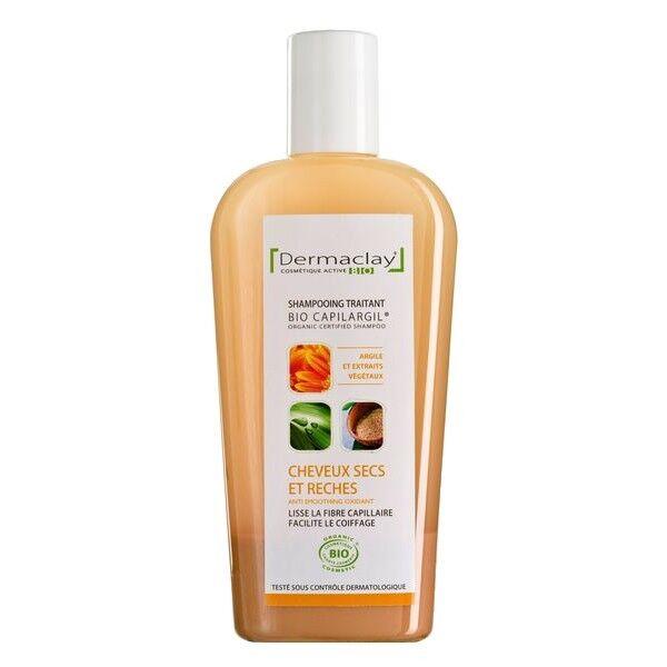 Dermaclay Shampoing à l'Argile 250 ml - Cheveux Secs et Rêches