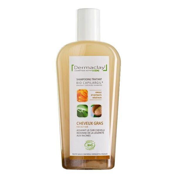 Dermaclay Shampoing à l'Argile 250 ml - Cheveux Gras