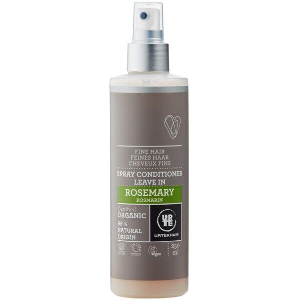 Urtekram Spray Après-Shampoing au Romarin 250 ml - Cheveux fins et fragiles
